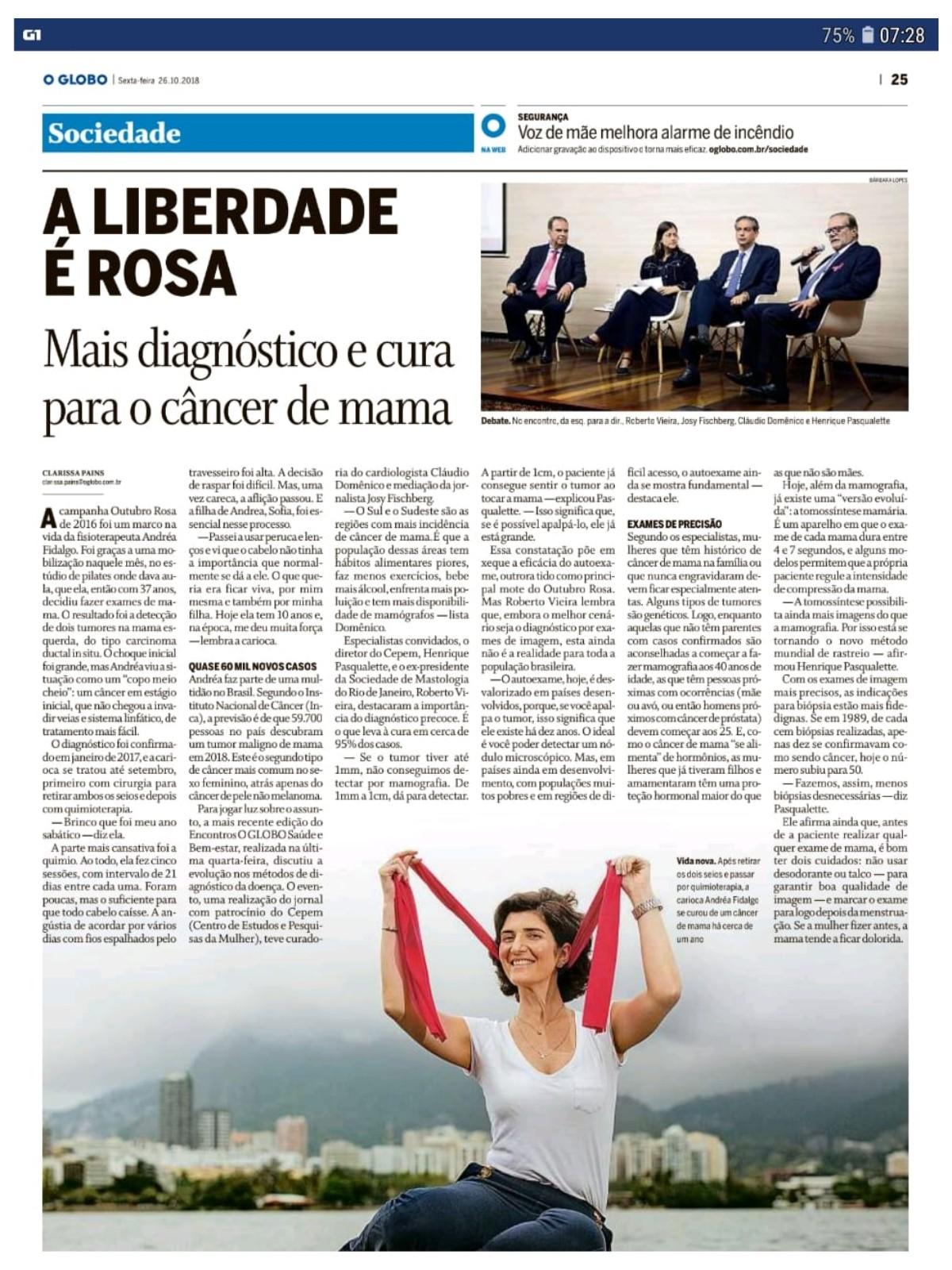 Artigo - A liberdade é Rosa
